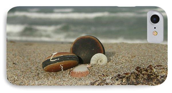 Beach Treasures 1 Phone Case by Kimberly Mohlenhoff