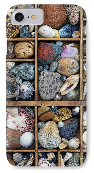 Beach Treasures IPhone Case by Tim Gainey
