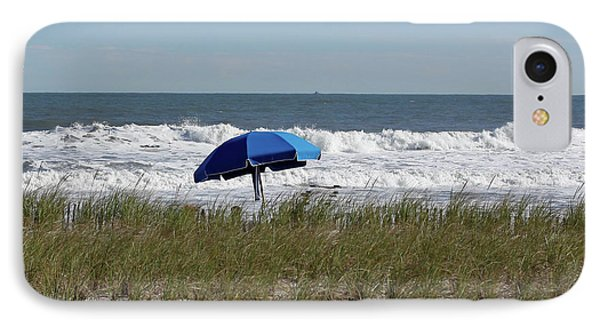 Beach Umbrella IPhone Case by Denise Pohl