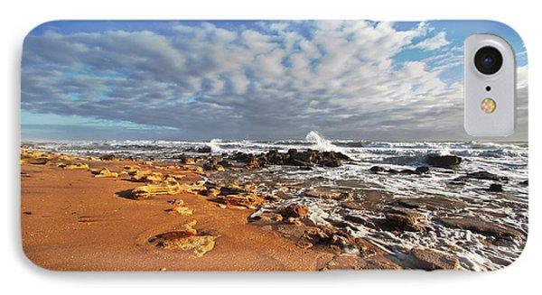 Beach View IPhone Case by Robert Och
