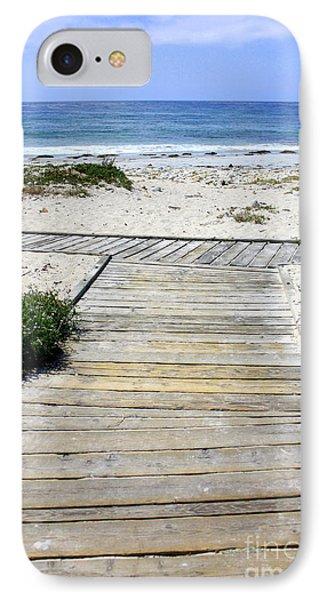 Beach Walk Phone Case by Carol Groenen