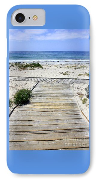 Beach Walk IPhone Case by Carol Groenen