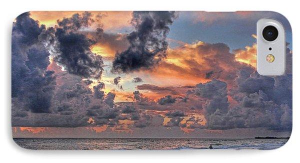 Beach Walk - Florida Seascape IPhone Case