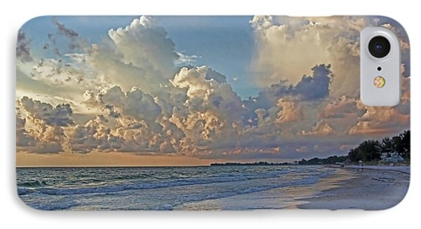 Beach Walk IPhone Case by HH Photography of Florida