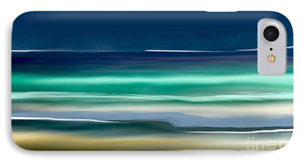 Beach Wave IPhone Case by Anthony Fishburne