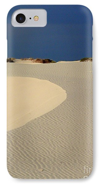 Beach With No Water Phone Case by Mark Grayden