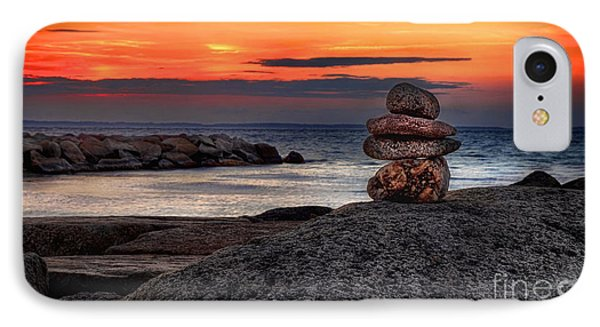IPhone Case featuring the photograph Beach Zen by Mark Miller