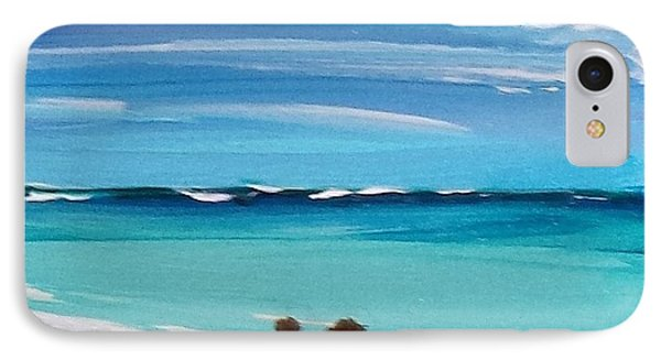 Beach3 IPhone Case by Diana Bursztein