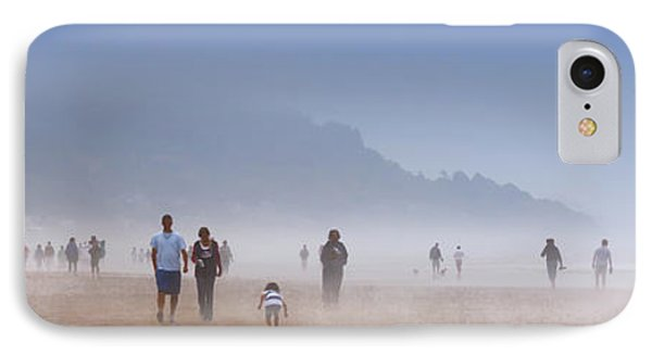 Beachcombers On Cannon Beach IPhone Case by David Patterson