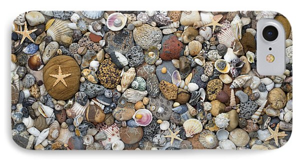 Beachcombing Pattern IPhone Case by Tim Gainey