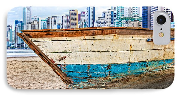 IPhone Case featuring the photograph Beached Boat by Kim Wilson