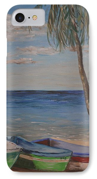 Beached IPhone Case by Debbie Baker