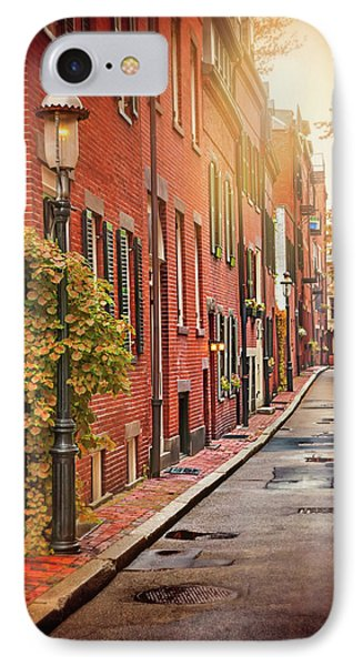 Beacon Hill Area Of Boston  IPhone Case by Carol Japp