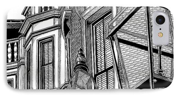Beacon Hill Windows-boston IPhone Case