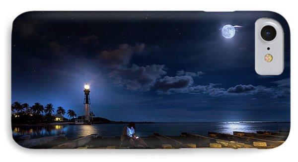 Beacons Of The Night IPhone Case by Mark Andrew Thomas