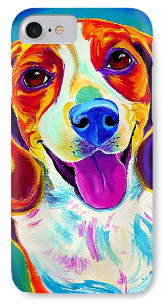 Beagle - Lucy IPhone Case by Alicia VanNoy Call
