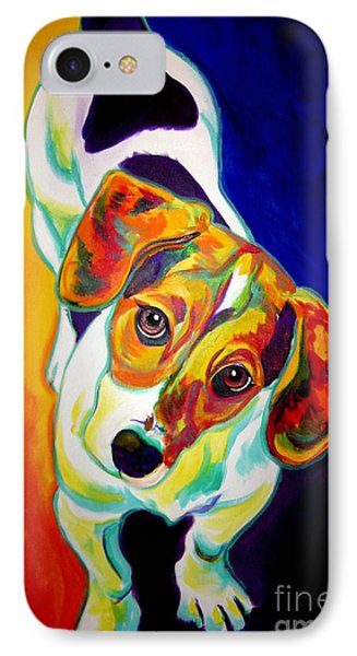 Beagle - Scooter IPhone Case by Alicia VanNoy Call