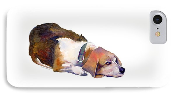 Beagle Thoughts IPhone Case