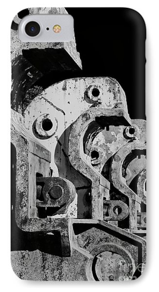 IPhone 7 Case featuring the photograph Beam Bender - Bw by Werner Padarin