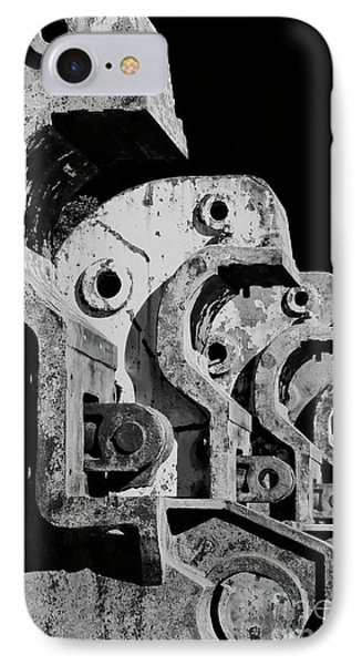 IPhone Case featuring the photograph Beam Bender - Bw by Werner Padarin
