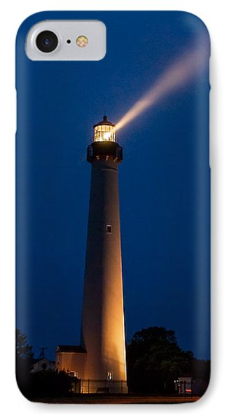 IPhone Case featuring the photograph Beam Of Light At Cape May by Nick Zelinsky