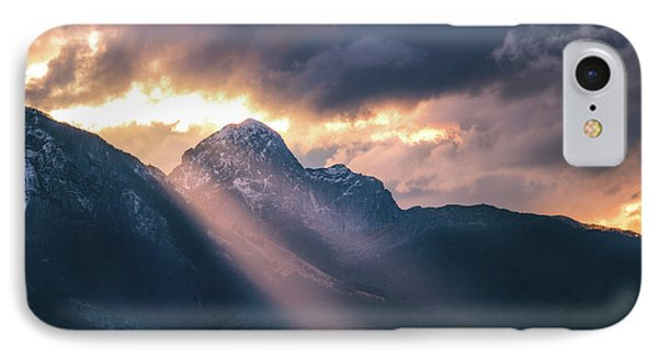 Beams Of Fire IPhone Case