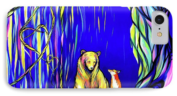 Bear And Fox  IPhone Case