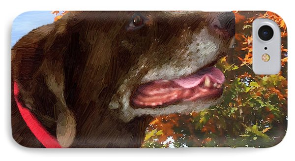 IPhone Case featuring the painting Bear - Bear by Doug Kreuger