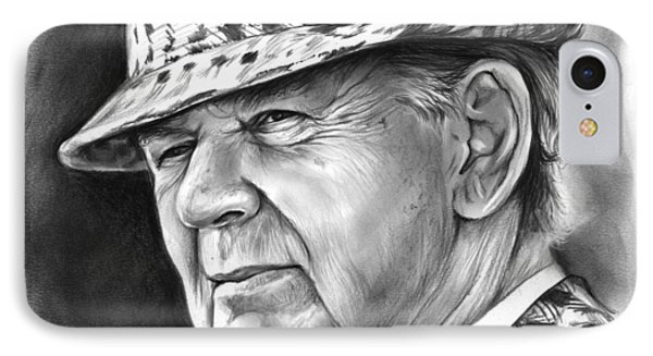 Bear Bryant IPhone Case