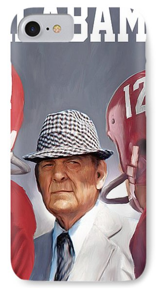 Bear Bryant IPhone Case by Mark Spears