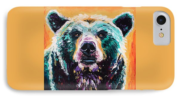 Bear Dreaming IPhone Case by Alana Clumeck