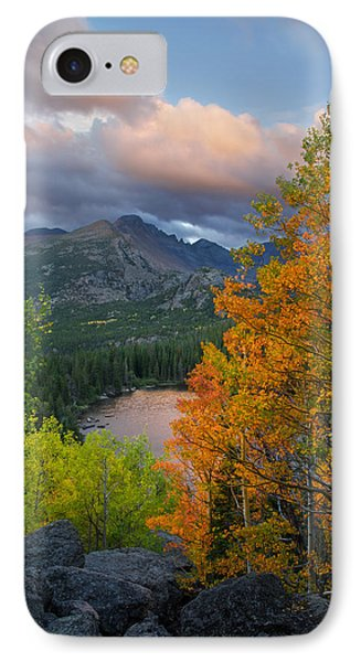 Bear Lake Autumn IPhone 7 Case by Aaron Spong