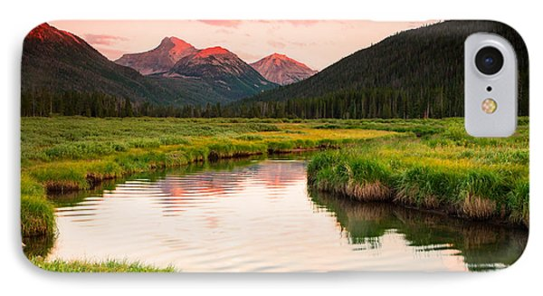 Bear River Sunset IPhone Case by Johnny Adolphson