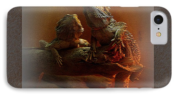 Bearded Dragons IPhone Case