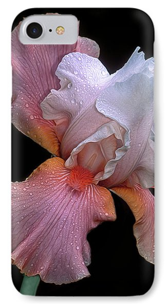 Bearded Iris IPhone Case by Dave Mills