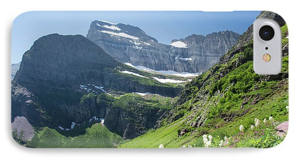 Beargrass - Grinnell Glacier Trail - Glacier National Park IPhone Case