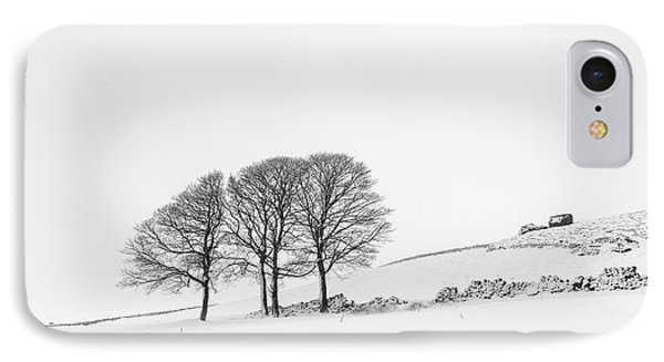 Bearstone Winter - Peak District IPhone Case by Richard Thomas