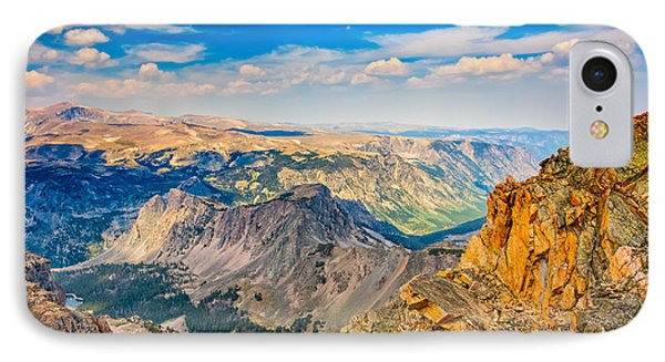 IPhone Case featuring the photograph Beartooth Highway Scenic View by John M Bailey
