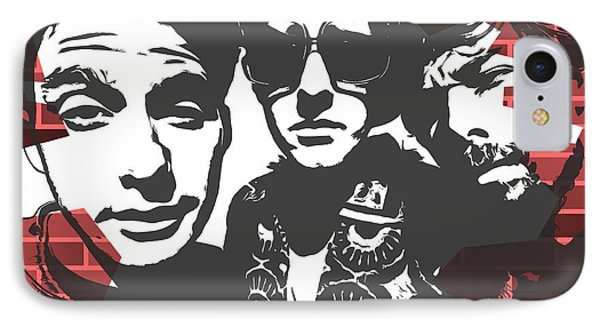 Beastie Boys Graffiti Tribute IPhone Case by Dan Sproul