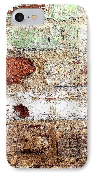IPhone Case featuring the photograph Beaten Brick Wall by Andrew Soundarajan