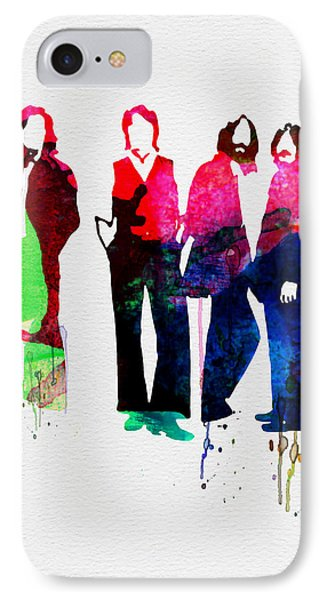 Musicians iPhone 7 Case - Beatles Watercolor by Naxart Studio
