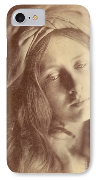 Beatrice IPhone Case by Julia Margaret Cameron
