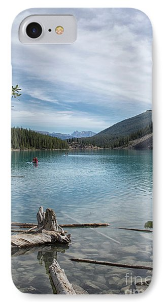 Beauiful Lake Maligne IPhone Case by Patricia Hofmeester