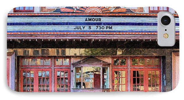 IPhone Case featuring the digital art Beaumont Jefferson Theater by JC Findley