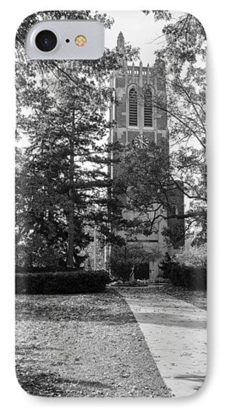 Beaumont Tower IPhone Case by Larry Carr