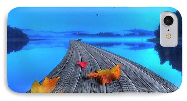 Beautiful Autumn Morning IPhone Case by Veikko Suikkanen