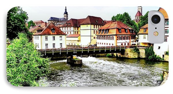 Beautiful Bamberg On The River IPhone Case by Kirsten Giving
