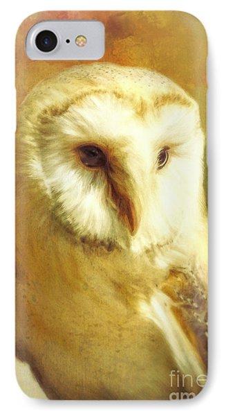 Beautiful Barn Owl IPhone Case by Tina LeCour