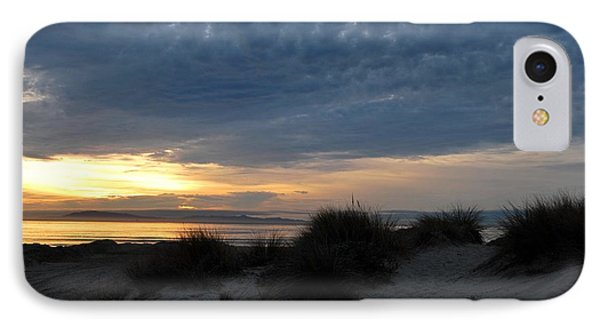 Beautiful Beach San Dunes Sunset And Clouds IPhone Case by Matt Harang