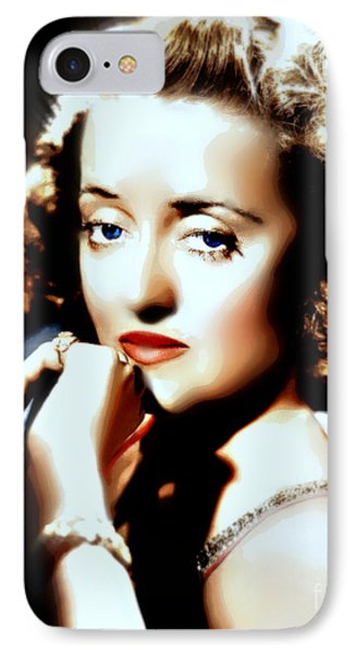Beautiful Bette IPhone Case by Wbk